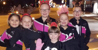 "JDA Performance Troupe at ""Jenks Lights On Christmas Event"""